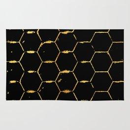 golden beehive Rug