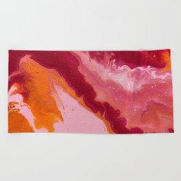 Summer haze Beach Towel
