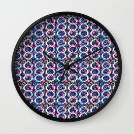 Dancing Ringlets Wall Clock