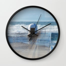 Merewether baths pumphouse Wall Clock