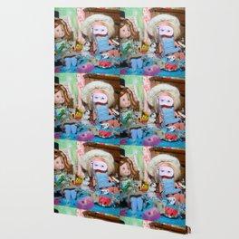 Dollhouse Masquerade Wallpaper