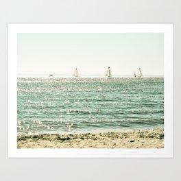 These Summer Days Art Print