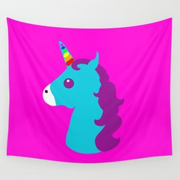 Portrait  of a Unicorn Wall Tapestry