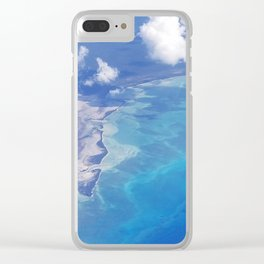 view from up here Clear iPhone Case
