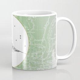 Machu Picchu, Peru, South America - Seven New Wonders Skyline Illustration Drawing Coffee Mug