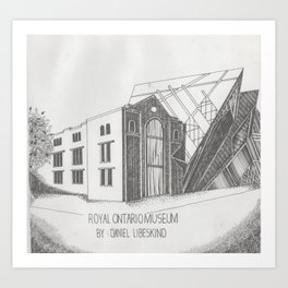 Royal Ontario Museum Art Print