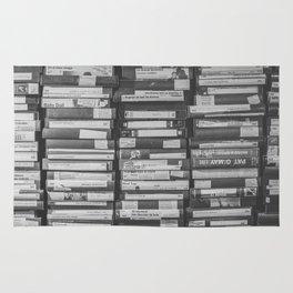 VHS Retro (Black and White) Rug