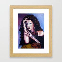 """""""Girl' Framed Art Print"""