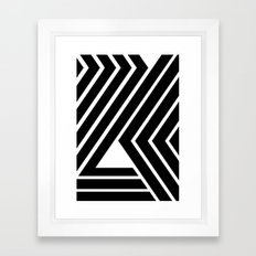 WILD STRIPES Framed Art Print
