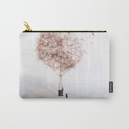 Flying Dandelion Carry-All Pouch