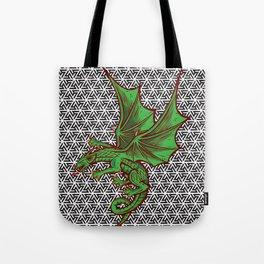 DRAGON MAZE Tote Bag