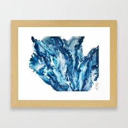 GLACIER Framed Art Print