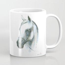 Horse head (Arabian mare from Janow Podlaski) Coffee Mug