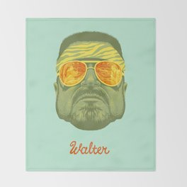 The Lebowski Series: Walter Throw Blanket
