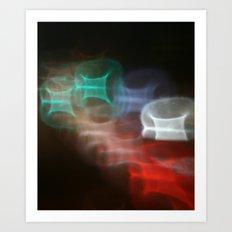 Night Lites DPGA150531 Art Print