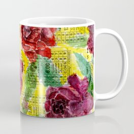 Floral Tickets Coffee Mug