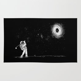 Black Hole in One Rug