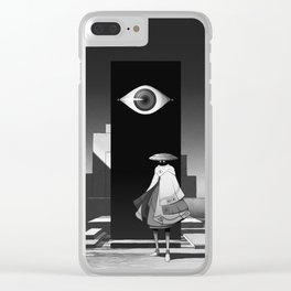 旅行者 | Traveler Clear iPhone Case