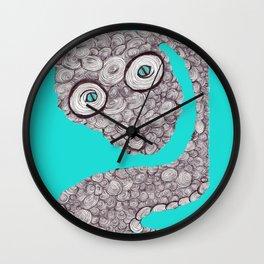 Spiral Snake Wall Clock