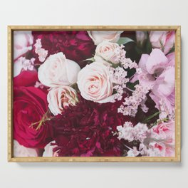 Flower Bouquet Serving Tray