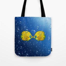 Fish love Tote Bag