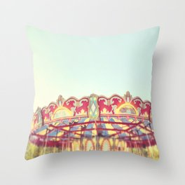 Whimsical Spin Throw Pillow