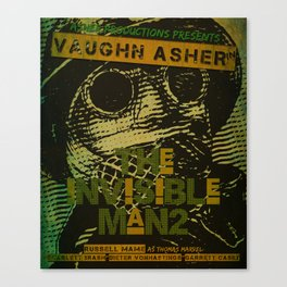 Official Invisible Man 2 Print Canvas Print