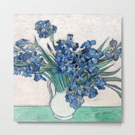 Irises II - Vincent Van Gogh Metal Print