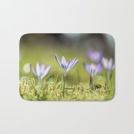 Crocus meadow Bath Mat