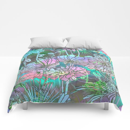 Spring Meadow Pattern Comforters
