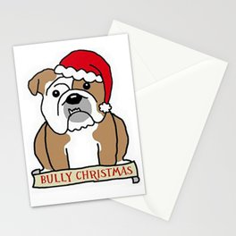 Bully Christmas Stationery Cards