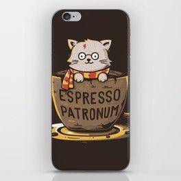 Espresso Patronum iPhone Skin