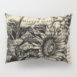 Pride & Prejudice, Chapter XLIII: Sunflowers Pillow Sham