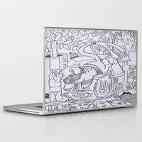 gizmo Laptop & iPad Skins featuring Gizmo mouse by Nixynakks