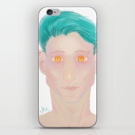 Demon eyes iPhone Skin