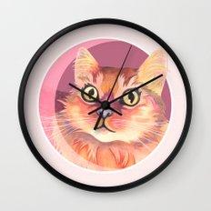 Miss Meowgi Wall Clock