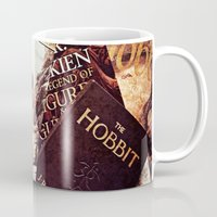 tolkien Mugs featuring Tolkien Books by Apples and Spindles
