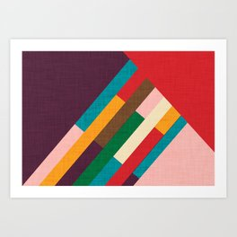 meridian purple Art Print