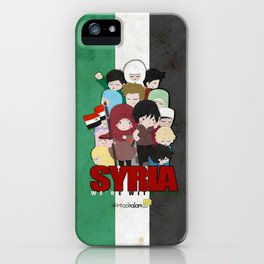 SYRIA - We're With You iPhone Case