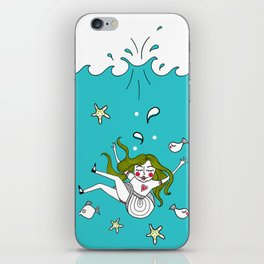 Dive In! iPhone Skin