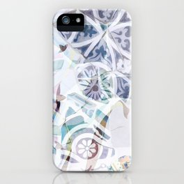 Mosaic of Barcelona IX iPhone Case