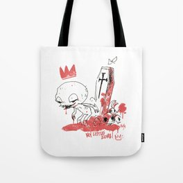 My little zombie Tote Bag