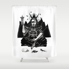 The Hierophant Shower Curtain