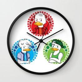 Huey, Dewey, Louie Wall Clock