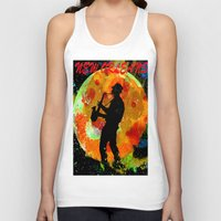 new orleans Tank Tops featuring New Orleans  by Saundra Myles