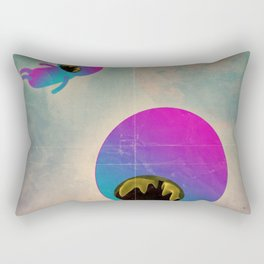 bimbo cosmico Rectangular Pillow