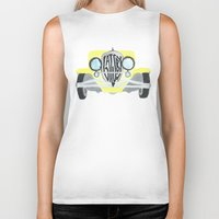 the great gatsby Biker Tanks featuring Gatsby by S. L. Fina