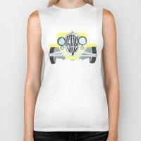 gatsby Biker Tanks featuring Gatsby by S. L. Fina