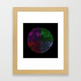 3D10 Framed Art Print