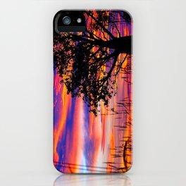 Pinks n Purples thru Boab Tree iPhone Case